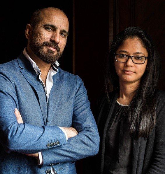Rashid Rana and Shilpa Gupta, Artists. Photo Mark Blower