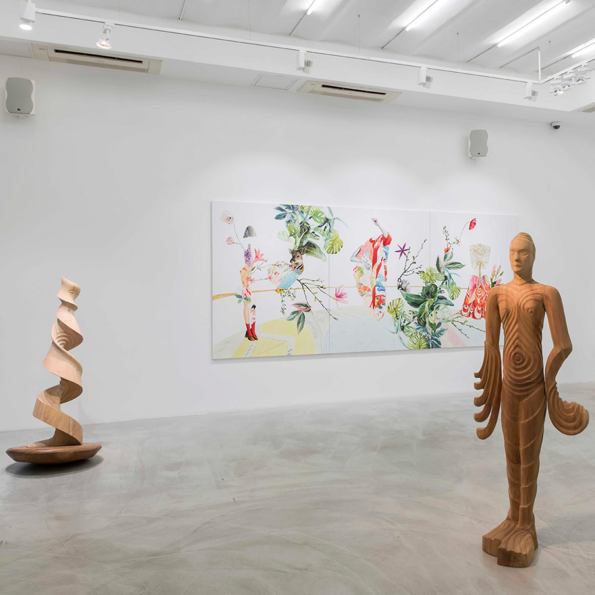 anna laudel contemporary presents three solo exhibitions by emerging